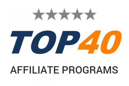 DF Top 40 Affiliate Programs