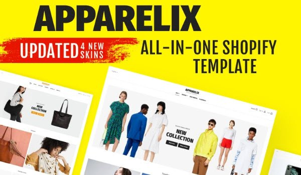 Apparelix Shopify Theme