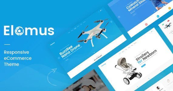 Elomus Shopify Theme