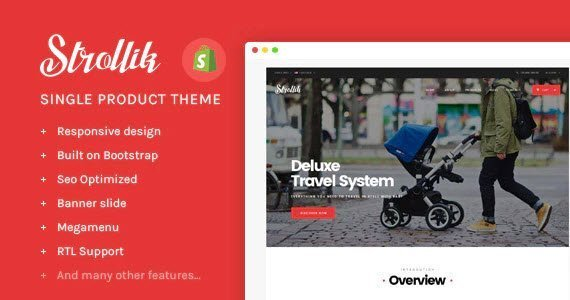 Strollik Shopify Theme