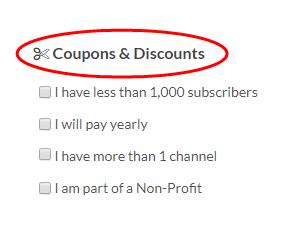 TubeBuddy Coupons Discounts